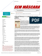 Mídia Sem Máscara - Edward Bernays e o Controle Da Opinião Pública