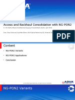 Access and Backhaul Consolidation With Ng Pon2 140402085548 Phpapp01