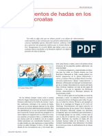 Los cuentos de hadas en los sellos croatas