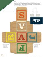 Alphabet Block Box