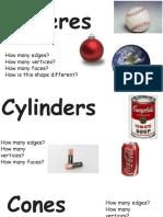 3-d shapes presentation  kg   3