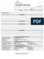 Modelo Planejamento Bimestral
