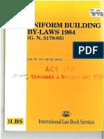 Uniform Building by-laws 1984_rev1