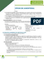 Anexo 3. Principios de Anestesia