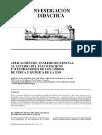 00APLICACIÓN DEL ANÁLISIS SECUENCIAL AL ESTUDIO DEL TEXTO ESCRITO E ILUSTRACIONES DE LOS LIBROS DE FÍSICA Y QUÍMICA DE LA ESO3-019