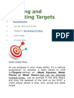 Creating and Exploiting Targets