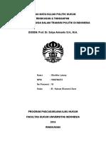 Tugas Terstruktur Polhuk - Ham Dalam Transisi Politik Di Indonesia - Gloritho