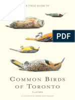 A Field Guide to Common Birds of Toronto (F.L.a.P., 2009)