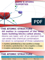 (3) Atoms & Atomic Properties