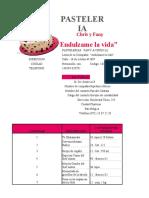 Factura 1 , Excel