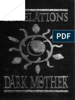 WOD - Vampire - The Masquerade - Revelations of the Dark Mother