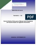 Norma_122_ Guía Clínica Para El Manejo Del Paciente Agitado