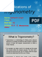 154427867 Ppt on Trigonometry Class 10