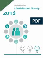 Consumer Satisfaction Survey 2015Latest