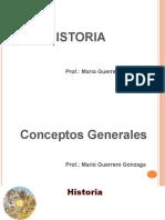 1 Conceptos generales1historia