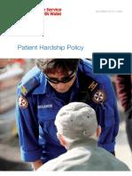 Ambulance Hardship Policy