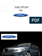 Case Study Ford
