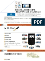 PROJECT Phase 1_mobile Search Engine I C A