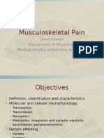 Musculoskeletal Pain 2011