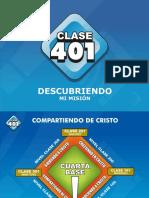 CLASE 401 - Descubriendo Mi Misión en La Vida