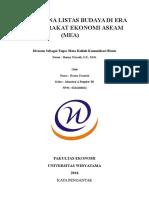 Fenomena Listas Budaya Di Era Masyarakat Ekonomi Asean (Mea)