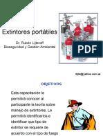 CLASE 14 Extintores Portátiles