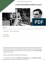 Alan Turing, Padre de La Informática Moderna y Paria Social