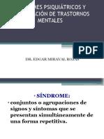 Sindromes Psiquiatricos y Clasificacion de Tgrastornos Mentales