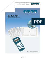 EPM-XP Manual 2 Stroke Rel.1.8 en 03 2009