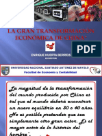La Gran Transformación Económica de China