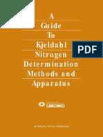 Guide Kjeldahl