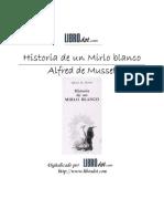 Microsoft Word - Mirlo_blanco - Historia de Un Mirlo Blanco