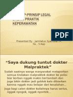 Metode Hukum Dan Praktek Kedokteran