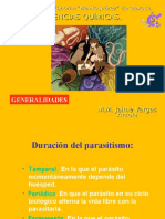 Generalidades en Parasitologia 2013