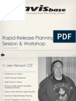 Rapid Release Planning