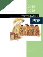 Textos Para Traducir Latín I