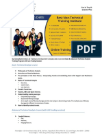 Technical Analysis Training Institute in Delhi