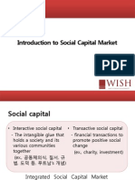 Introduction to Social Capital Market