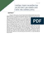 Translation_CFO Compensation_Evidence From Australia