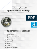 Common Applications Utilizing A Spherical Roller Bearings