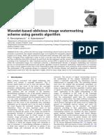 IET Image Processing Volume 6 Issue 4 2012 [Doi 10.1049_iet-Ipr.2010.0347] Ramanjaneyulu, K.; Rajarajeswari, K. -- Wavelet-based Oblivious Image Watermarking Scheme Using Genetic Algorithm