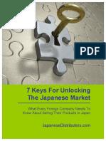 7 Keys Japanese Market