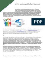 AllWays ERP Software De Administración Para Empresas