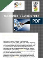 Multimedia in Various Field