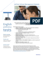 English Proficiency Tests for Teachers