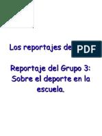 Reportaje - Grupo 3