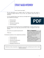 CBI Interview Guide