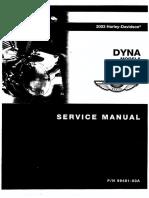 Harley Davidson Service Manual Dyna Glide Models 2003