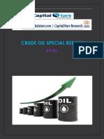 CRUDE OIL SPECIAL REPORT