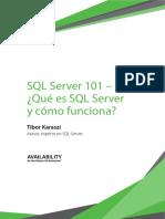 SQL Server101 How Does It Work WP Tibor Karaszi ES LAT